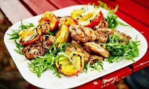 Casa Grande Restaurant: Fisch- oder Fleischplatte mit Beilagen & & Mozzarella Caprese im CasaGrande Restaurant (bis zu 54% sparen*)