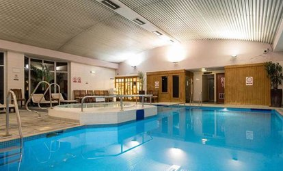 image for Spa Day with Fizzy Afternoon Tea for Two at Urban Hotel Grantham (Up to 55% Off)