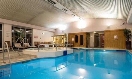 Spa Day with Fizzy Afternoon Tea for Two at Urban Hotel Grantham (Up to 55% Off)