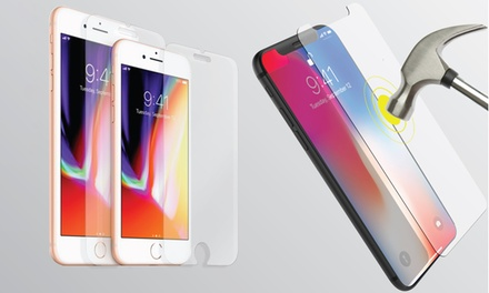 Mobile Guard Tempered Glass Screen Protector for iPhone 8/8 Plus/X