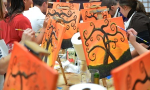 Painting Circle: Up to 55% Off Admission for One, Two, or Four to a Painting Class with Paintingcircle.com