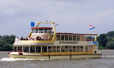 De Pannenkoekenboot: onbeperkt pannenkoeken eten in Amsterdam, Rotterdam of Nijmegenincl. rondvaart