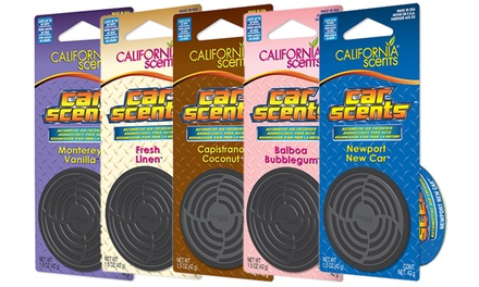 Pack de 3, 6 o 9 ambientadores adhesivos California Air Tools
