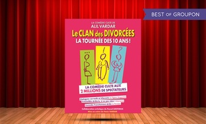 """Café-Théâtre les Minimes: 2 places pour """"Le Clan des Divorcées"""", dates au choix à 29 € au Café-Théâtre des Minimes"""
