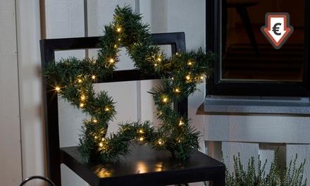 Estrellas de abeto navideñas con 40 o 60 luces LED desde 15,98 €