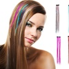 Glitter Clip-In Hair Extensions (10-Pack)