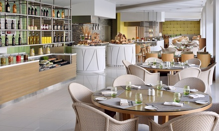 Breakfast, Lunch or Dinner Buffet with Beverages at 5* Marriott Downtown Hotel (Up to 62% Off)