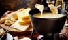Raclette ou fondue avec dessert pour 2