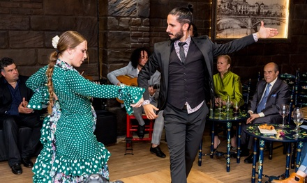 Entrada Brown o Silver a espectáculo flamenco con consumición individual desde 14,95€ en Sala Flamenca Lola de los Reyes