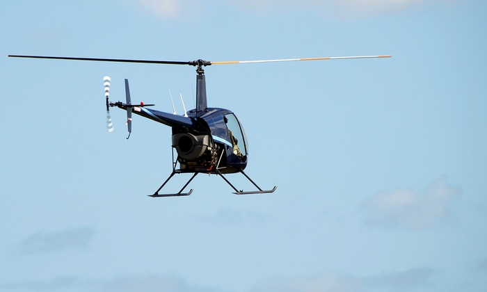 A&M Aviation - Bolingbrook: Helicopter Hovering Adventure at A&M Aviation (Up to 43% Off)