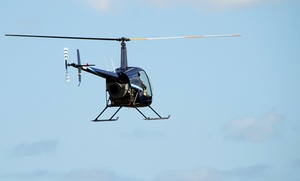 A&M Aviation: Helicopter Hovering Adventure at A&M Aviation (Up to 43% Off)