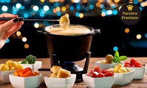 Indaiá Restaurante: Fondue de queijo e chocolate para 2 pessoas no Indaiá Restaurante – Itapema