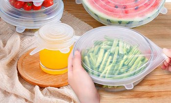 Reusable Silicone Food Lids