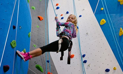 Open Climb Session or Intro to Climbing Package for Two People at Earth Treks - Golden (Up to 71% Off)