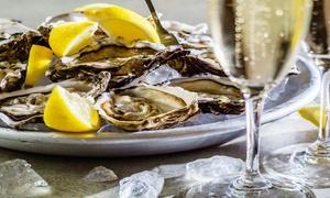 Ohh La La: Ostriche e vino con antipasto di pesce e tagliere di formaggi per 2, 4 o 6 persone da Ohh La La (sconto fino a 66%)