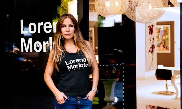 Lorena Morlote - MADRID: Sesión de peluquería completa con asesoramiento de imagen y opción a tinte y/o mechas desde 39,95 € en Lorena Morlote
