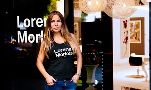 Lorena Morlote: Sesión de peluquería completa con asesoramiento de imagen y opción a tinte y/o mechas desde 39,95 € en Lorena Morlote