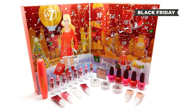 One or Two W7 Cosmetics 2016 Advent Calendar from £12.98 (Up to 58% Off)