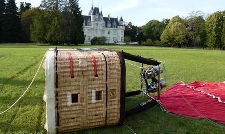 1h20 de vol en montgolfière pour 1 personne dès 119 € avec Montgolfière Sensation – Région Ouest