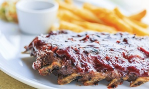 Lulu's Smokehouse & Tavern: Dinner for Two or Four at Lulu's Smokehouse and Tavern (Up to 64% Off)