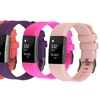 Silicone Replacement Band, Compatible with Fitbit Charge 2