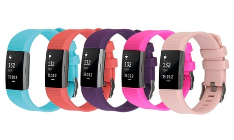 Silicone Replacement Band for Fitbit Charge 2