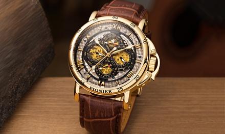 Orologio Pionier uomo disponibile in 4 colori con spedizione