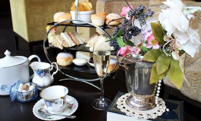 image for Afternoon Tea for Two or Four with Bubbly at 4* Mercure Milton Keynes Abbey Hill (50% Off)