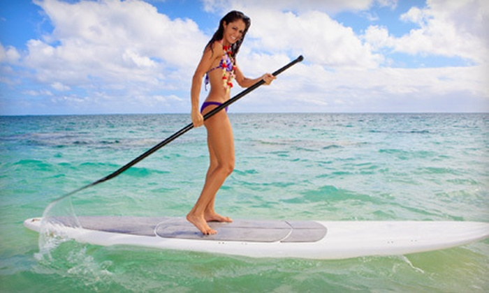 Captain Kirk's - Los Angeles: Standup-Paddleboarding Lesson for One or Two with Equipment from Captain Kirk's in San Pedro (Up to 57% Off)
