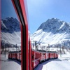 Bus A/R e Trenino del Bernina da Tirano per Saint Moritz
