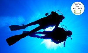 Submarine Escola de Mergulho: Mergulho em Bombinhas com cilindro, equipamento completo, instrutor e embarcação com Submarine – Praia da Sepultura