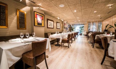 Menú Asia fusion o premium para 2 personas con degustación de platos y bebida desde 59,95 € en Café Saigón