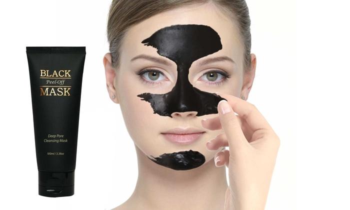 e5 black peel off mask 3 3 oz groupon. Black Bedroom Furniture Sets. Home Design Ideas