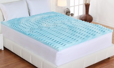 "Authentic Comfort 2"" Orthopedic 5-Zone Foam Mattress Topper d98dea4a-e7d9-11e6-949c-002590604002"