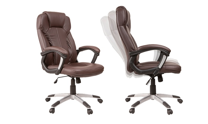 Groupon Goods Global Gmbh Prestige Reclining Office Chairs In Black Or Brown With Free Delivery