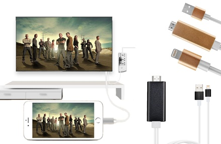 HDMI kabel Apple Lightning en Micro usb Type C