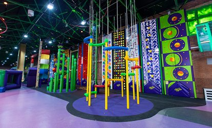 Indoor Climbing Session for up to Four at Clip N Climb Newcastle