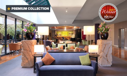Melbourne: 1 or 2 Nights for Two with Late CheckOut and Optional Breakky and Parking at Amora Hotel Riverwalk Melbourne