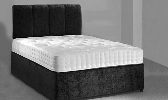 Groupon Goods Global GmbH: Rome Cool Blue Memory Sprung Mattress from €79.99 With Free Delivery (Up to 79% Off)