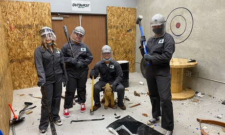 Rage Room Package at Outburst Rage Room (Up to 35% Off). Four Options Available.