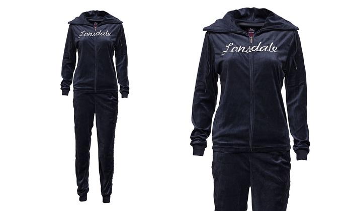 e29d7a112963 Tuta sportiva Lonsdale per donna | Groupon
