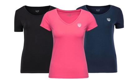 Camiseta para mujer de la marca Emporio Armani