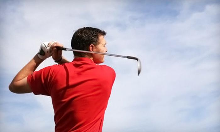 Full Swing Golf of Alaska - Bayshore / Klatt: 60-Minute Golf-Simulator Session or $20 for $40 Worth of Repairs and Regripping Services at Full Swing Golf of Alaska