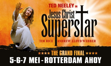 The Grand Final: tickets voor rockopera Jesus Christ Superstar in AHOY Rotterdam