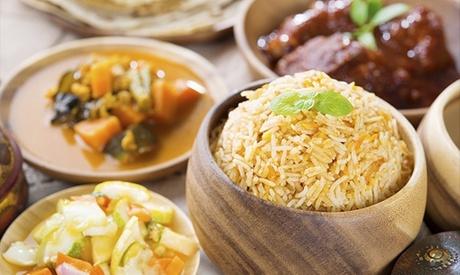 Cocina hindú para 2 o 4 personas con entrante, principal y postre desde 19,90 € en Al Jannat Restaurant