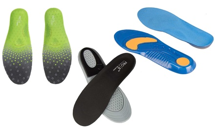 Shock Absorbing Orthotic Insoles