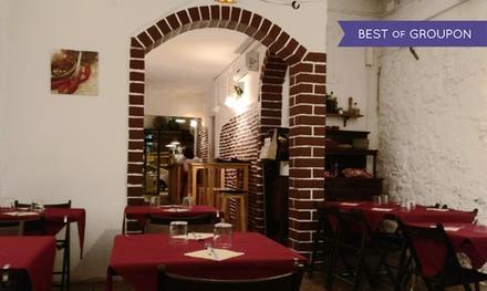 Menú para 2 o 4 personas a elegir con opción a botella de lambrusco desde 19,95 € en Los Amigos
