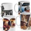 Collage photo sur mug