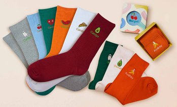 Personalised Embroidered Socks
