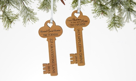 One Personalized Key Ornament from Personalization Mall  (71% Off)